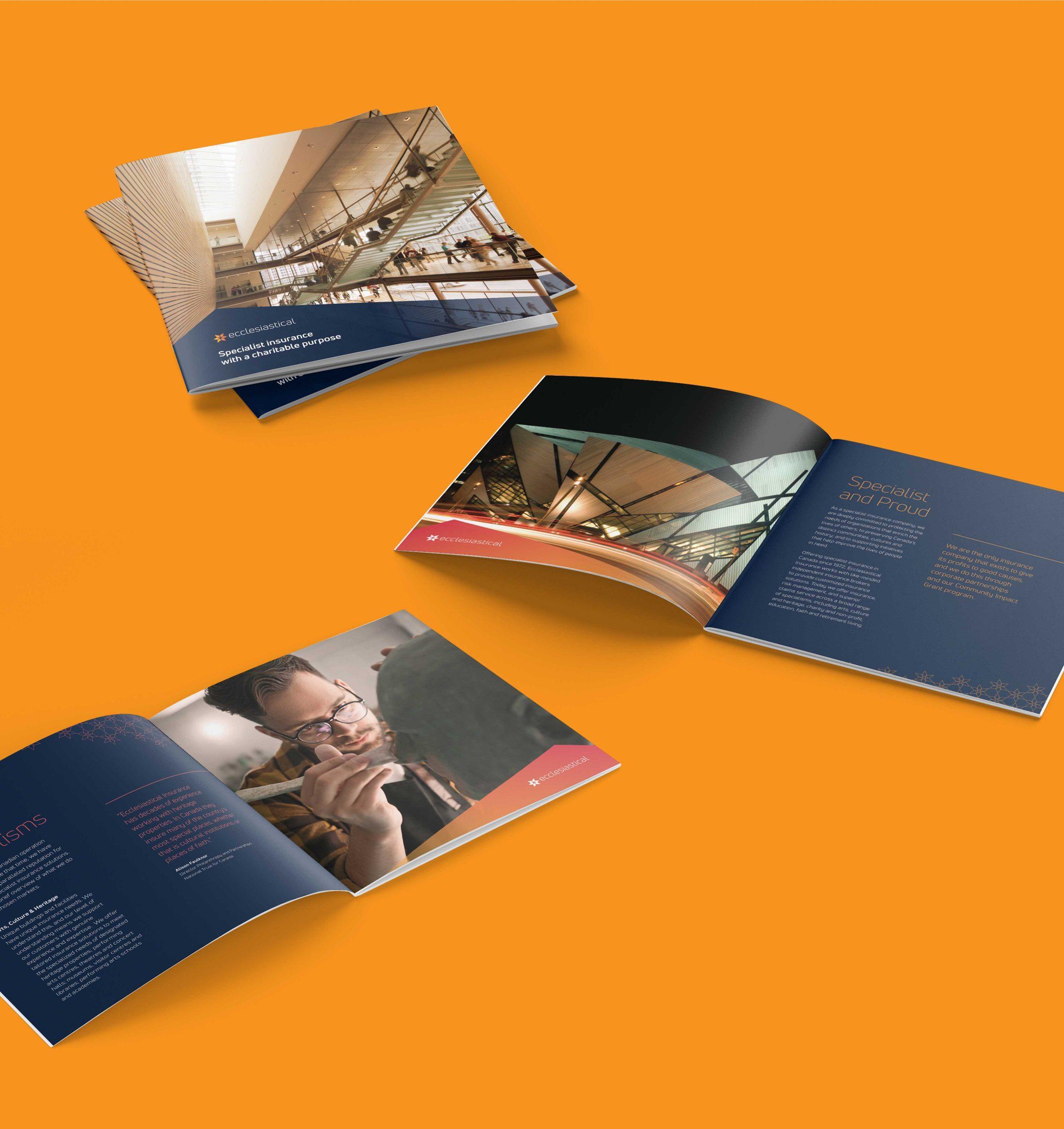 Ecclesiastical brochure