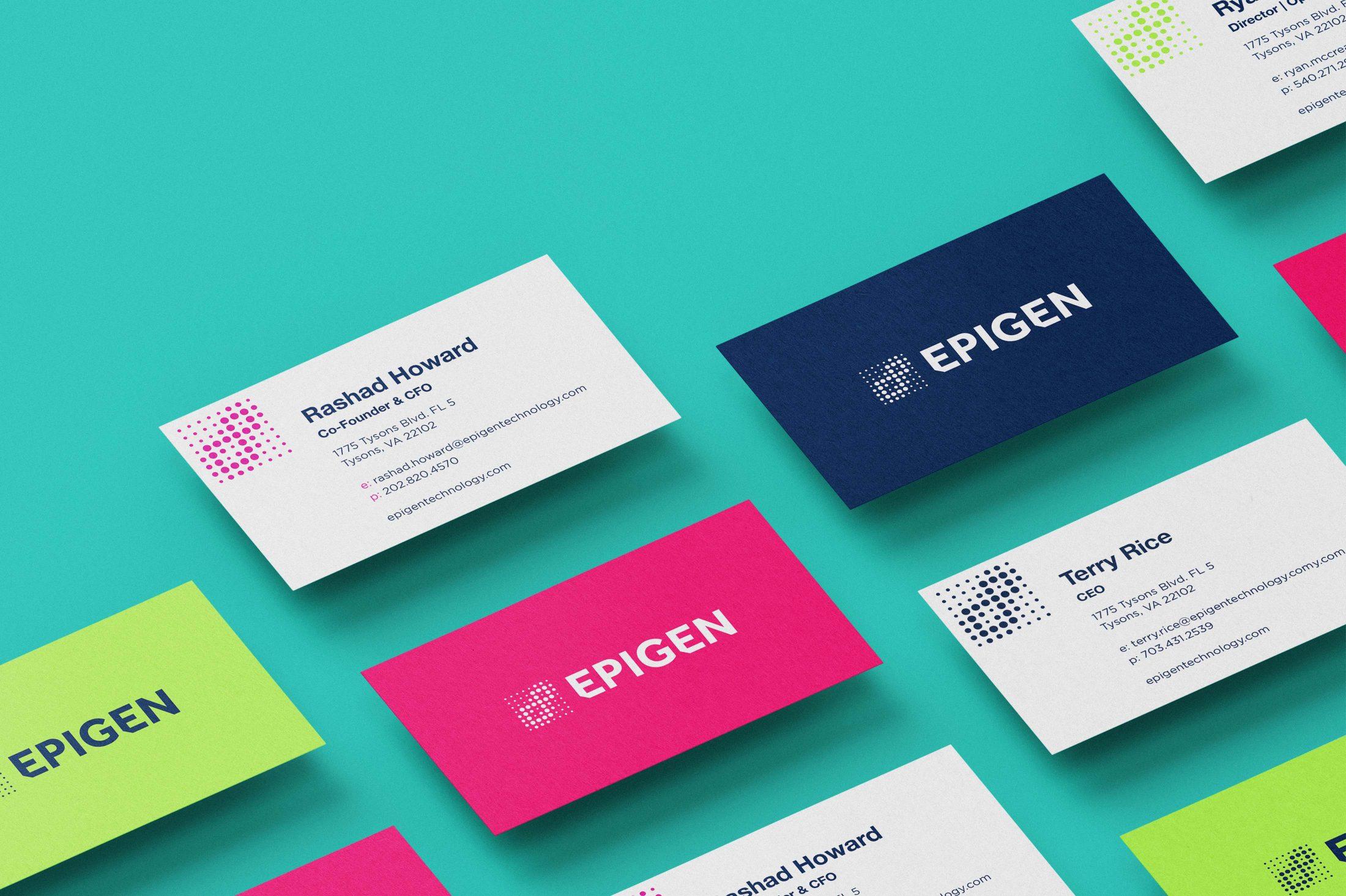 Epigen business cards