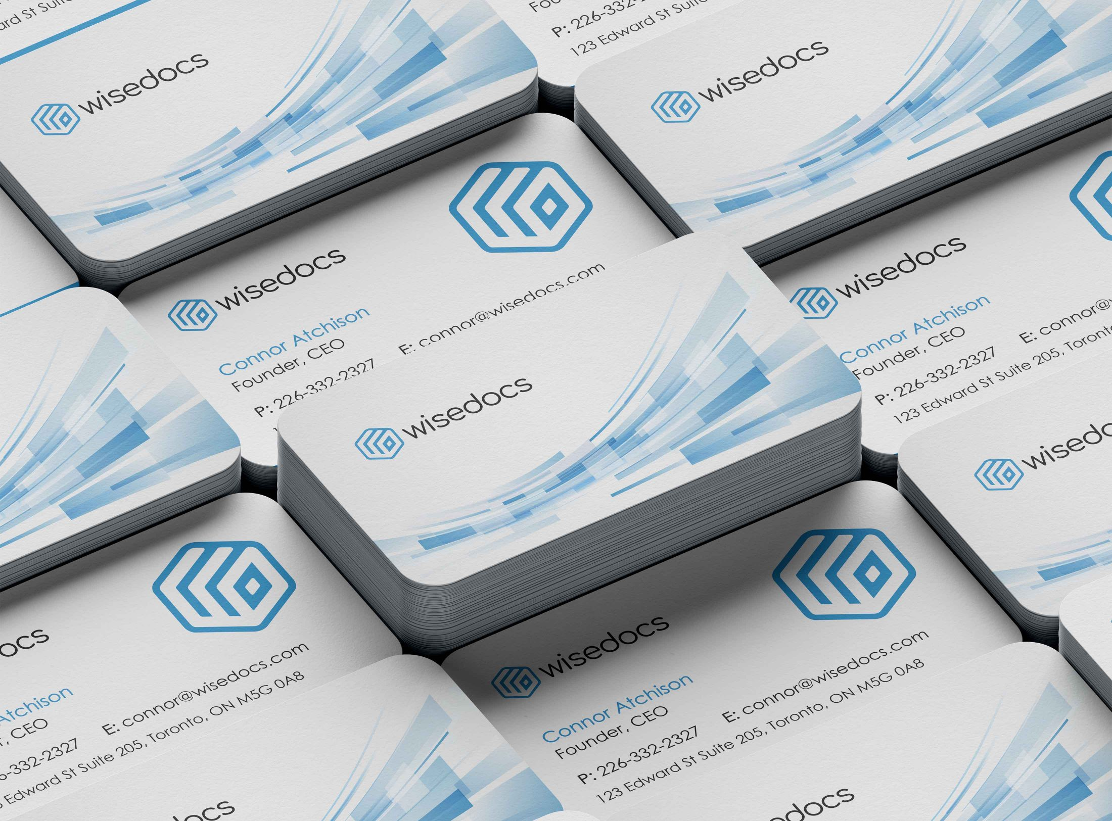 Wisedocs business cards